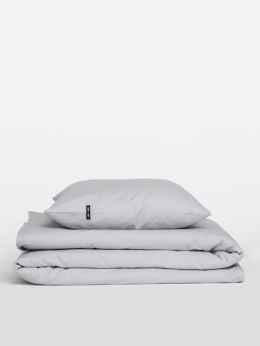Bed linen with cotton (light grey)