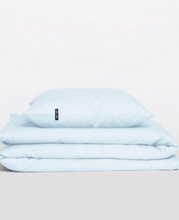 Bed linen with cotton (pastel blue)