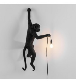 MONKEY LAMP-BLACK