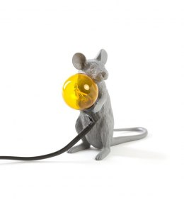 THE FLASH MOUSE GREY-SITTING, GRAY