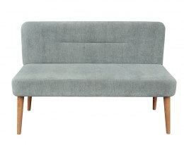 Crocco Upholstered Bench with Backrest