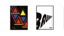 BAUHAUS graphics set