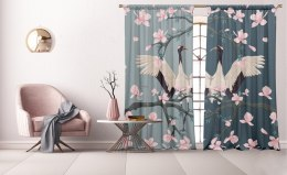 A set of curtains Hanami