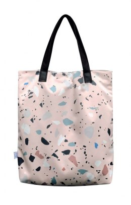 Bag Mr. m Terrazzo pink/ears natural leather