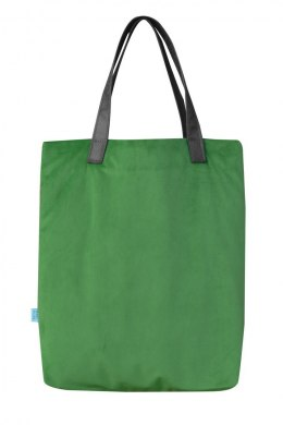 Bag Mr. m velvet green/ears natural leather