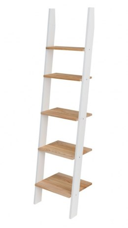 ASHME small ladder with ash shelves yellow