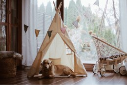 "Teepee tent Big ""120cm""-eco-friendly"