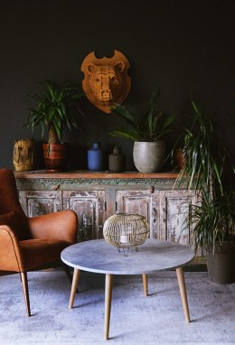Coffee table concrete 90
