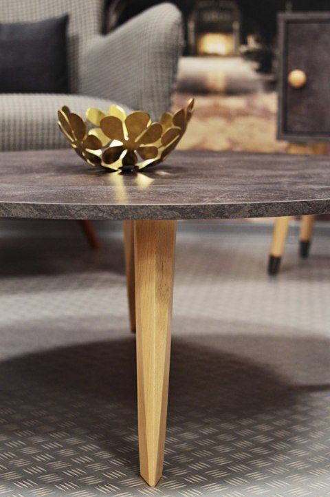 Coffee table Dark Geo Concrete