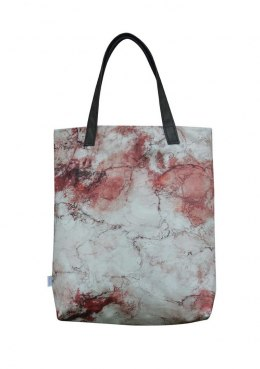 Bag Mr.m marble red/ ears natural leather