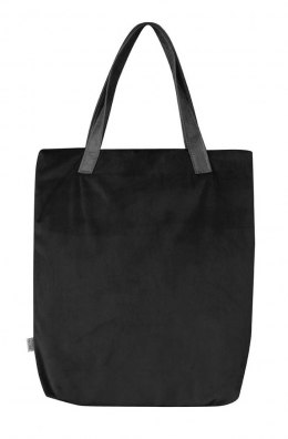 Bag Mr.m velvet black/ears natural skin